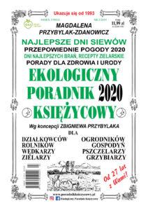 Ekologiczny Poradnik Księżycowy 2020